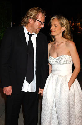 Matthew Carnahan and Helen Hunt 77th Annual Academy Awards - Vanity Fair Party Hollywood, CA - 2/27/05