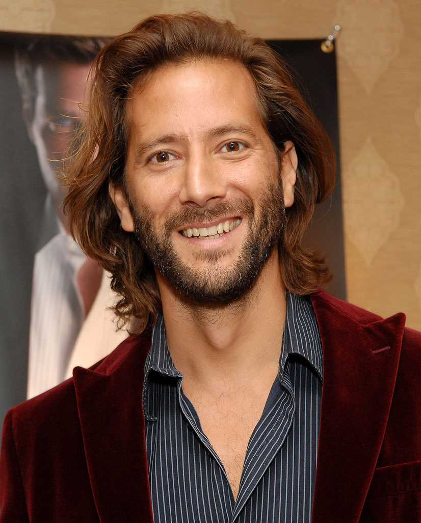 Henry Ian Cusick at Arnold Brant's HBO Luxury Lounge.
