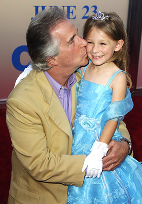 Premiere: Henry Winkler and Tatum McCann at the LA premiere of Columbia's Click - 6/14/2006