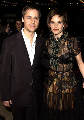 Premiere: Chad Lowe and Hilary Swank at the Century City premiere of The Affair of the Necklace - 11/20/2001