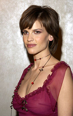 Premiere: Hilary Swank at the New York screening of The Affair of the Necklace - 11/27/2001