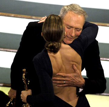 Winners Clint Eastwood and Hilary Swank 77th Annual Academy Awards Ceremony Hollywood, CA - 2/27/05