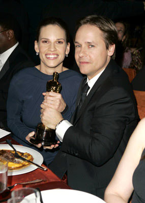 Hilary Swank and Chad Lowe The 77th Annual Academy Awards - Governors Ball Hollywood, CA - 2/27/05