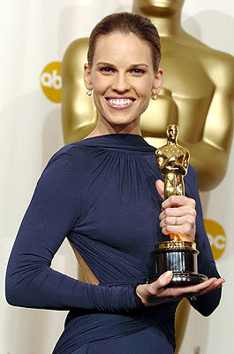 Hilary Swank Best Actress - Million Dollar Baby 77th Annual Academy Awards - Press Room Hollywood, CA - 2/27/05