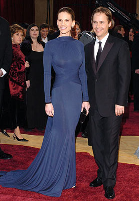 Hilary Swank and Chad Lowe 77th Annual Academy Awards - Arrivals Hollywood, CA - 2/27/05