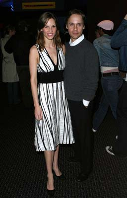 Hilary Swank and Chad Lowe Tribeca Film Festival, 5/8/2003