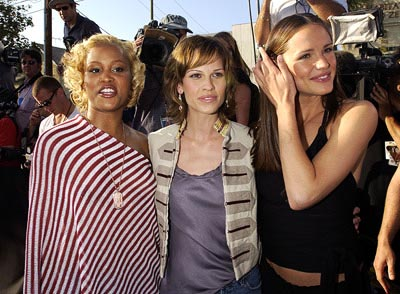 Eve, Hilary Swank and Jennifer Garner MTV Movie Awards 6/1/2002