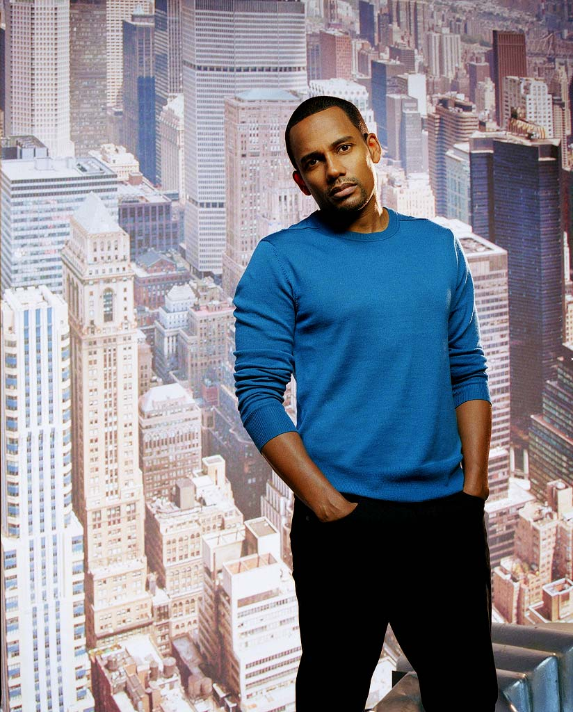 Hill Harper stars as Dr. Sheldon Hawkes in CSI: NY.