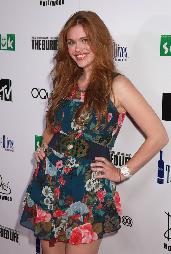"Holland Roden arrives at MTV's ""The Buried Life"" Season 2 Premiere Party at Drai's Hollywood on September 22, 2010 in Hollywood, California."