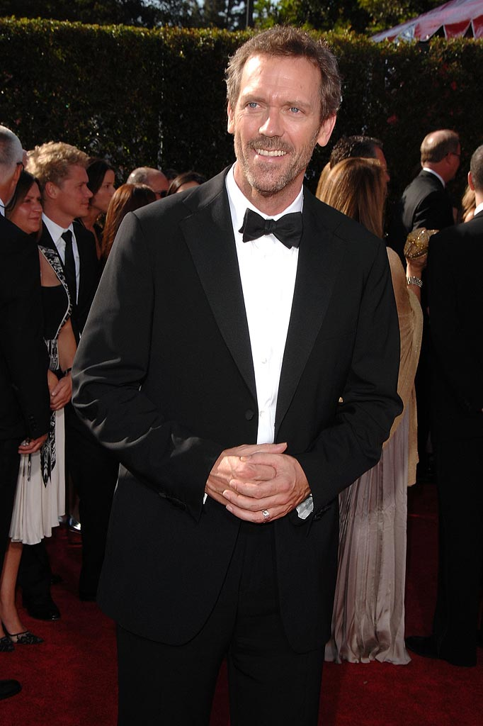 Hugh Laurie  arrives at the 59th Annual Primetime Emmy Awards at the Shrine Auditorium. - September 16, 2007