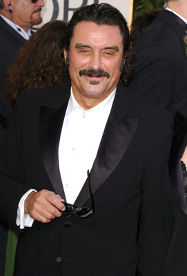 Ian McShane 62nd Annual Golden Globe Awards - Arrivals Beverly Hills, CA - 1/16/05