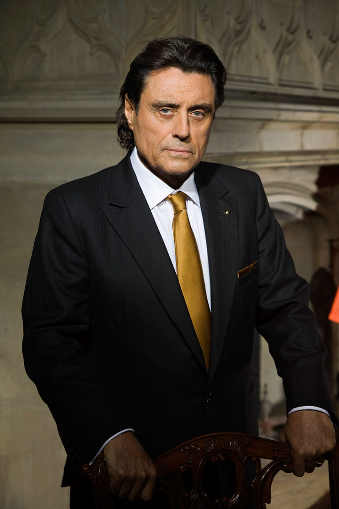 Ian McShane stars as King Silas Benjamin in Kings.