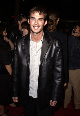 Premiere: Ian Somerhalder at the Hollywood premiere of Life as a House - 10/24/2001