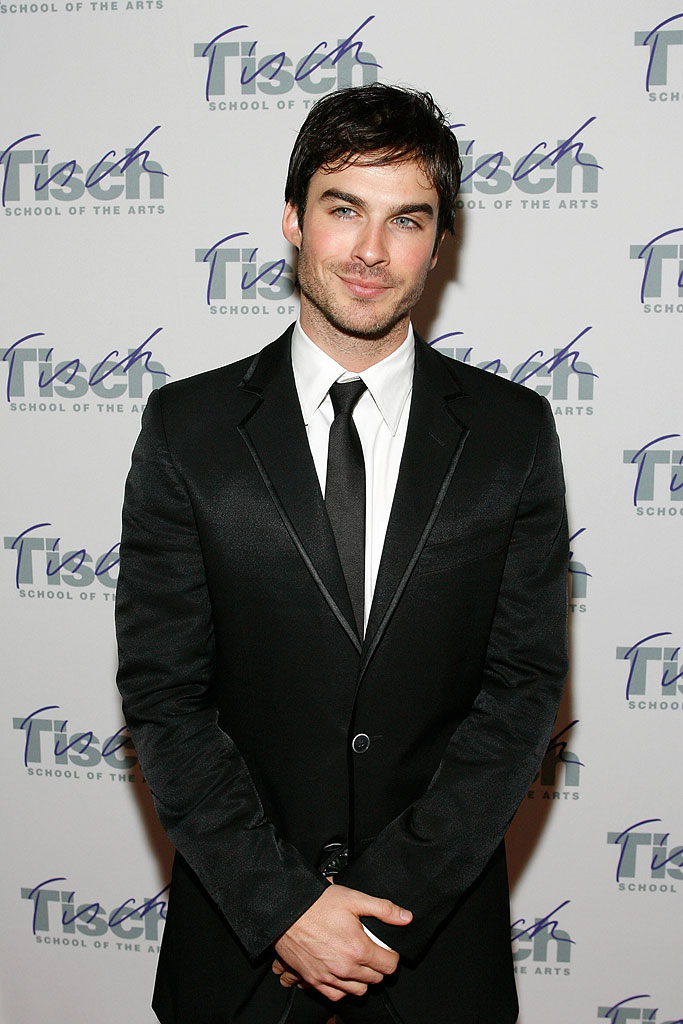 "Ian Somerhalder attends the Tisch School of The Arts ""Totally Tisch"" Star Studded Gala on November 12,2007"