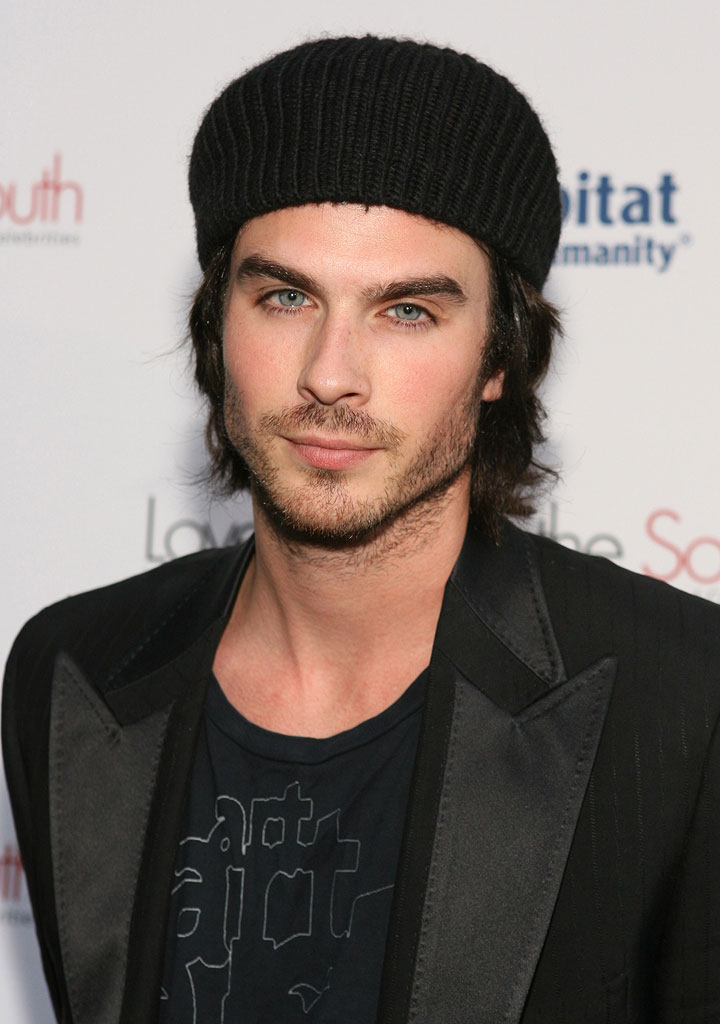 "Ian Somerhalder at the Los Angeles book launch of ""Love Letters to the South: Messages of Hope and Healing from the World's Best Loved Celebrities"" on August 21, 2006."
