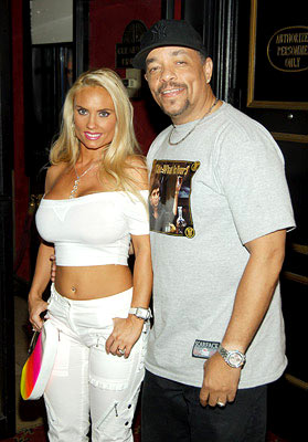 Premiere: Ice-T with Coco at the New York premiere of Paramount Pictures' War of the Worlds - 6/23/2005