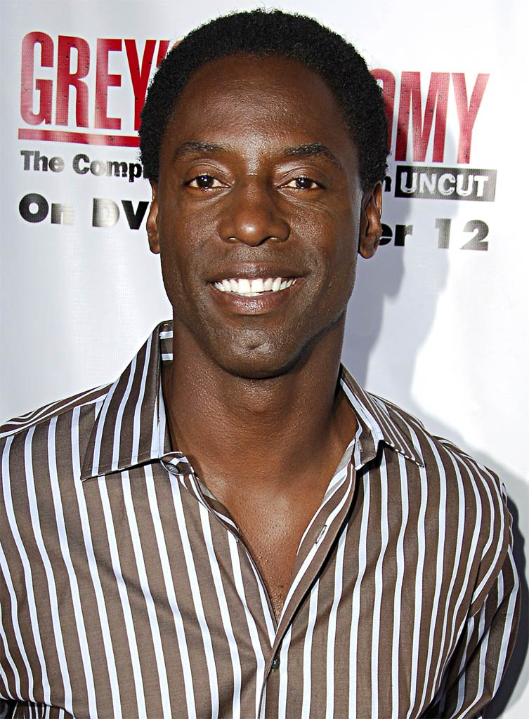 Isaiah Washington at Grey's Anatomy The Complete Second Season - Uncut DVD Launch Event on September 5, 2006