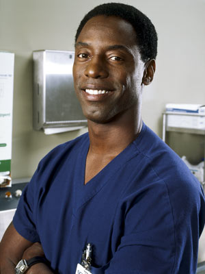 Isaiah Washington ABC's Grey's Anatomy