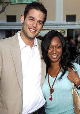 Premiere: Ivan Sergei and guest at the Westwood premiere of Universal Pictures' The Break-Up - 5/22/2006