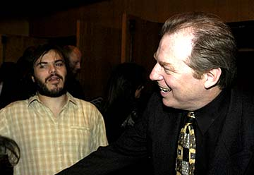 Premiere: Jack Black and Michael McKean at the Hollywood premiere of Warner Bros. A Mighty Wind - 4/14/2003