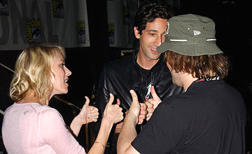 Naomi Watts, Adrien Brody and Jack Black of King Kong San Diego Comic-Con, 7/16/2005