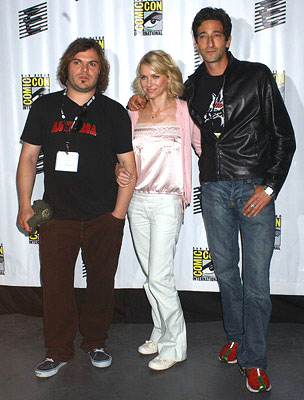 Jack Black, Naomi Watts and Adrien Brody of King Kong San Diego Comic-Con, 7/16/2005
