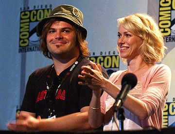 Jack Black and Naomi Watts of King Kong San Diego Comic-Con, 7/16/2005