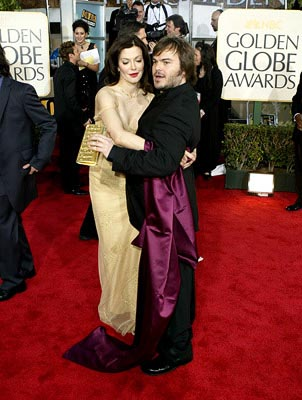 Laura Kightlinger, Jack Black Golden Globes - 1/25/2004
