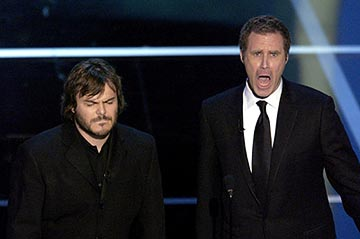Jack Black and Will Ferrell 76th Academy Awards - 2/29/2004
