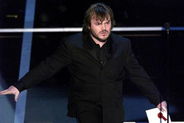 Jack Black 76th Academy Awards - 2/29/2004