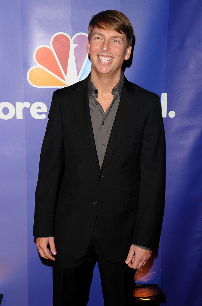 "Jack McBrayer (""30 Rock"") attends the 2010 NBC Upfront presentation at The Hilton Hotel on May 17, 2010 in New York City."