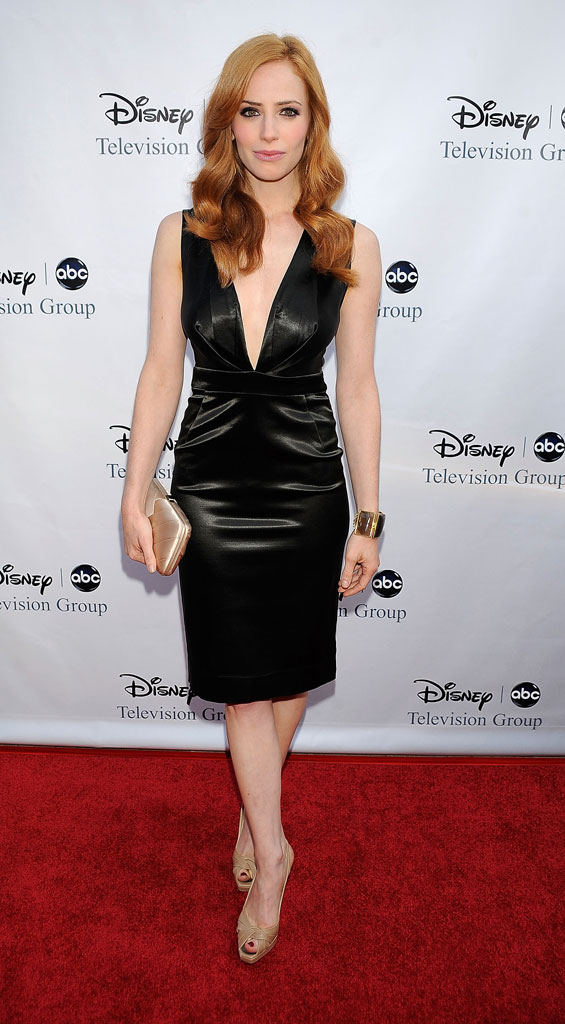 Jamie Ray Newman arrives at Disney-ABC Television Group Summer Press Tour Party at The Langham Hotel on August 8, 2009 in Pasadena, California.