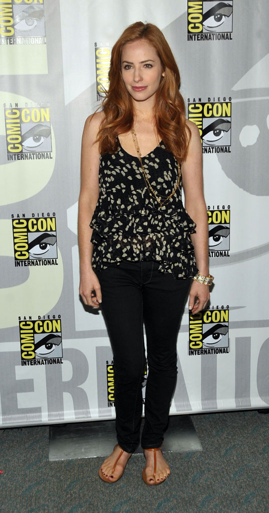 "Jamie Ray Newman attends the ""Eastwick""†pilot screening at Comic-Con 2009 held at San Diego Convention Center on July 25, 2009 in San Diego, California."