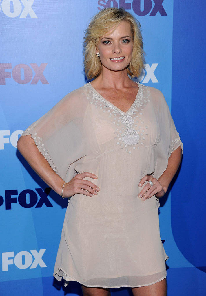 Jaime Pressly attends the 2011 Fox Upfront at Wollman Rink - Central Park on May 16, 2011 in New York City.