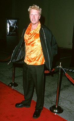 Premiere: Jake Busey at the Zanuck Theater premiere of 20th Century Fox's Tigerland - 10/3/2000