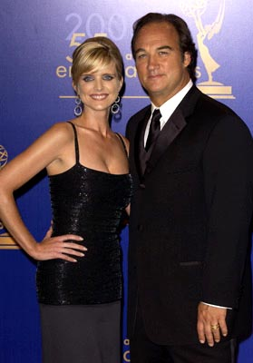 Courtney Thorne-Smith, James Belushi 55th Annual Emmy Awards - 9/21/2003