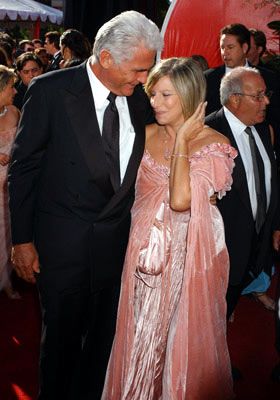 James Brolin and Barbra Streisand 56th Annual Emmy Awards - 9/19/2004