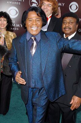James Brown The 47th Annual GRAMMY Awards - Arrivals Staples Center - Los Angeles, CA - 2/13/05