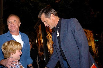 Premiere: James Caan and Viggo Mortensen at the LA premiere of New Line's The Lord of the Rings: The Return of The King - 12/3/2003