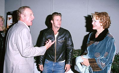 Premiere: James Caan, Scott Caan and Ellen Burstyn at the Beverly Hills premiere of Miramax's The Yards - 10/18/2000