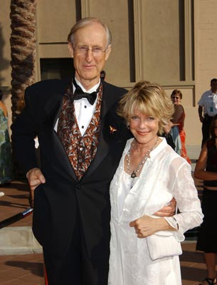 James Cromwell and wife Emmy Creative Arts Awards - 9/13/2003