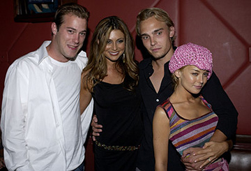 Premiere: James DeBello, Cerina Vincent, Joey Kern and Jordan Ladd at the LA premiere of Lions Gate's Cabin Fever - 8/8/2003