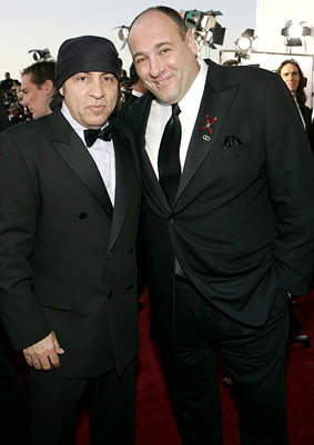Steven Van Zandt and James Gandolfini Screen Actors Guild Awards - 2/5/2005