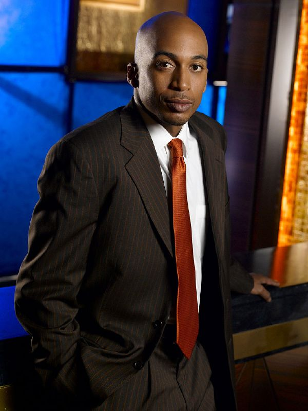 James Lesure as Mike Cannon on NBC's Las Vegas.