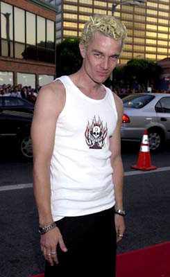 Premiere: James Marsters at the Westwood premiere of Universal's American Pie 2 - 2001