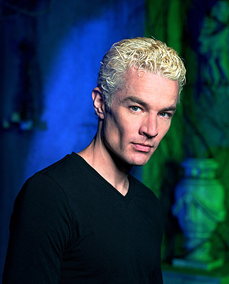 James Marsters as Spike on Buffy The Vampire Slayer