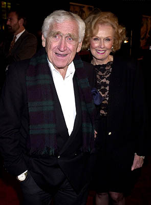 Premiere: James Whitmore and wife Noreen at the Hollywood premiere of Warner Brothers' The Majestic - 12/11/2001