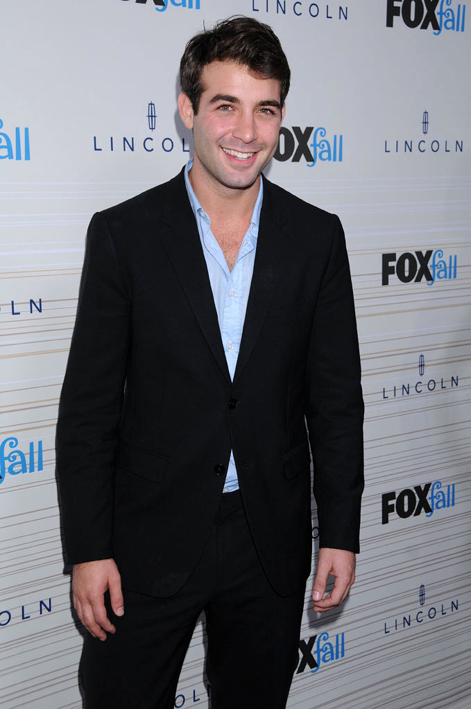 "James Wolk of ""Lone Star"" arrives at the 2010 Fox Fall Eco-Casino party on September 13, 2010, at Boa in West Hollywood."