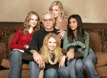 Evan Rachel Wood, James Woods, Jane Krakowski, Adi Schnall and Elizabeth Harnois Pretty Persuasion Portraits - 1/22/2005 Sundance Film Festival