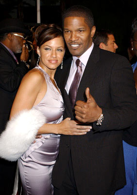 Premiere: Leila Arcieri and Jamie Foxx at the Hollywood premiere of Universal Pictures' Ray - 10/19/2004